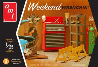 AMT 1:25 Diorama Weekend Wrenchin