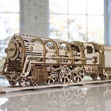 Ugears Ugears Locomotive & Tender