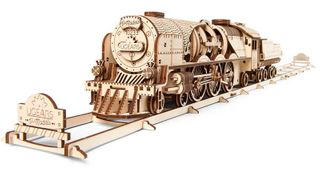 Ugears Ugears V-Express Steam Train & Tender