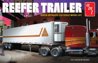 AMT 1:24 Reefer Semi Trailer*D