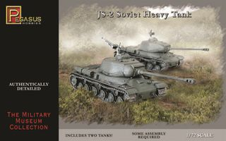 JS-2 SOVIET HEAVY TANKS, (2), 1:72