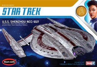 Polar Lights 1:2500 Star Trek Uss Shenzhou (Snap) 2T