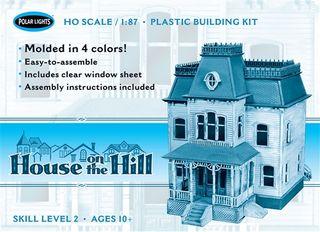 Polar Lights 1:87 House On The Hill*D