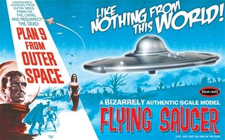 Polar Lights 1:48 Plan 9 From Out SpaceFlying Saucer