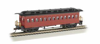 Bachmann Rs Coach Ptd U/L.Red 1860 1880Pass.