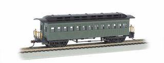 Bachmann Rs Coach Ptd U/L.Grn 1860 1880Pass.