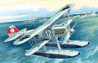 ICM 1:72 Heinkel He 51B-2