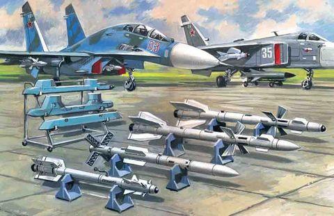 ICM 1:72 Svt. Air-To-Air Armament