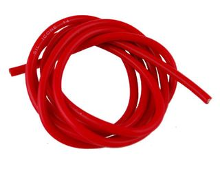 HHQ Silicone Wire 14Awg Red No Conn 1 Mtr