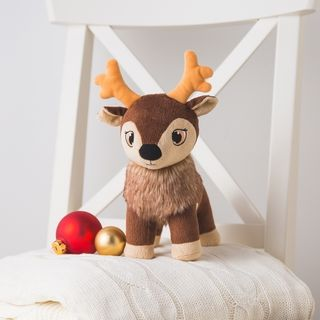 Portable North Pole Reindeer Plush