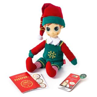 Portable North Pole Do Good Elf Green