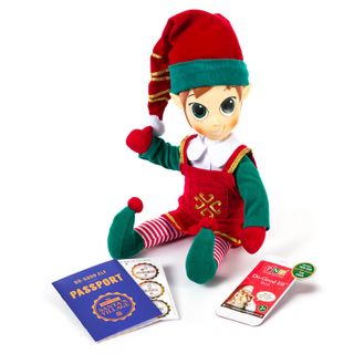 Portable North Pole Do Good Elf Red