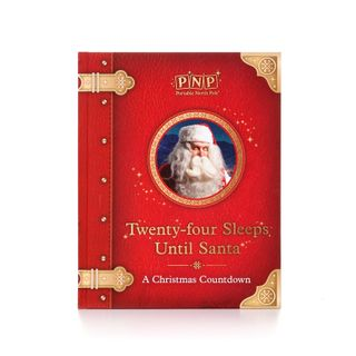 Portable North Pole Santa Story Book
