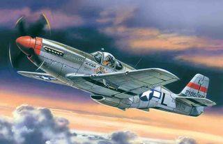 ICM 1:48 Mustang P-51C