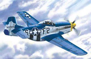 ICM 1:48 Mustang P-51D-15