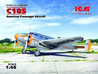 ICM 1:48 C18S Usa Passenger Aircraft