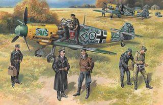ICM 1:48 Bf 109F-2 W/ Ger. Pilots&G.P