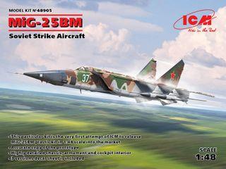 ICM 1:48 Mig-25 Bm Svt. Strike AiRCraft