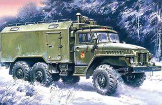 ICM 1:72 Ural-375A Command Vehicle