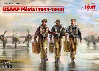 ICM 1:32 Usaaf Pilots (1941-45) (3)