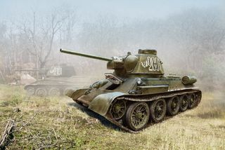 ICM 1:35 T-34/76 (Late 1943) *