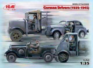 ICM 1:35 Ger. Drivers (1939-1945) (4)