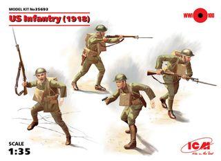 ICM 1:35 Us Infantry (1918) (4)