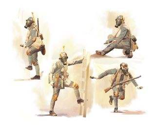 1:35 Infantry in Gas Masks (1918) (4)