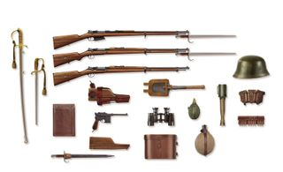 ICM 1:35 Wwi Turkish Infantry Weapons&Equip.