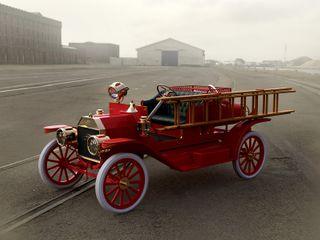 ICM 1:24 Model T 1914 Firetruck Usa Car