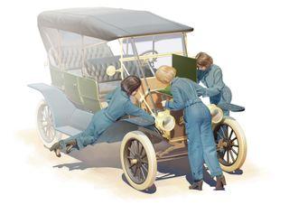 ICM 1:24 Usa Mechanics (1910S) (3)