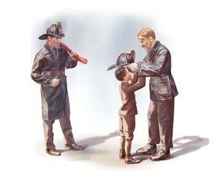 ICM 1:24 Usa Firemen (1910S) (3)