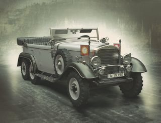 ICM 1:24 Typ G4 (1935 ) Ger. PersonnelCar