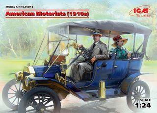 ICM 1:24 Usa Motorists (1910S)