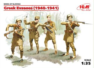 ICM 1:35 Greek Evzones (1940-1941) (4)