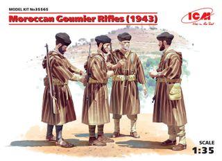 ICM 1:35 Moroccan Goumier Rifles (1943)-4