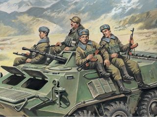ICM 1:35 Armrd Carrier Riders (1979-91)-4