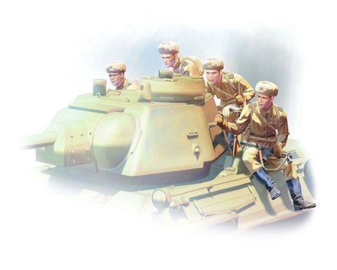 ICM 1:35 Tank Riders (1943-1945) (4)