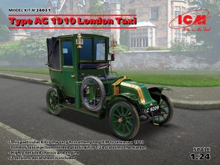 ICM 1:24 Type Ag 1910 London Taxi