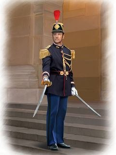 ICM 1:16 French Republican Guard Officer