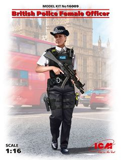 ICM 1:16 British Police Female Officer