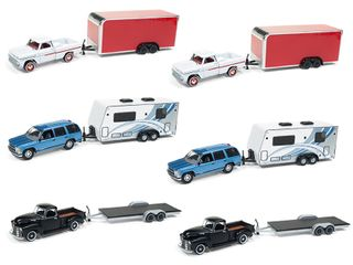 Johnny Lightning 1:64 Jl Truck And Trailer Rel.7B