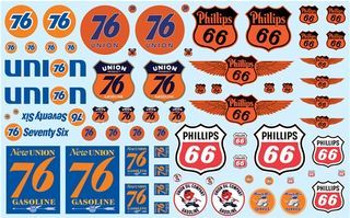 1:25 Phillips 66&Union 76 Trucking Decal