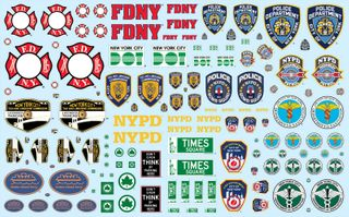 1:25 NYC Auxiliary Decal Pack