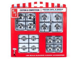 AMT 1:25 Custom Caps & Wheels