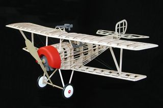 Guillows Nieuport Ii Model Kit