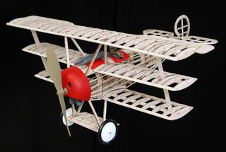 Guillows Fokker Triplane Model Kit