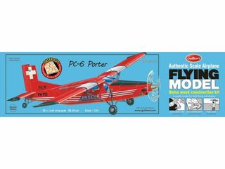 Guillows Pc6 Porter Model Kit