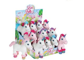 SPARKLE UNICORN WITH SOUND VARIOUS 1PCE