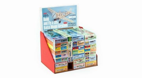 Guillows 165 Counter Top Display 24 Kits